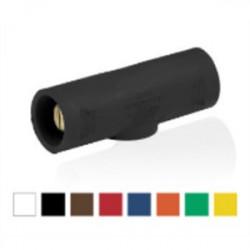 Leviton - 16D25-UE - Leviton 16D25-UE Cam Connector, Male Plug, Contact & Insulator, #2-#1 AWG, Black