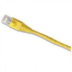 Signamax / AESP - C6-115YE-10FB - Signamax C6-115YE-10FB Patch Cord 4 Pair / 23 AWG CM CAT6 RJ45 Yellow 10'