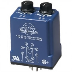 R-K Electronics - CLRB-115A-2-1H-1H - R-K Electronics CLRB-115A-2-1H-1H 8 Pin, Timing Relay, DPDT, 120V Coil