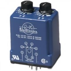R-K Electronics - CLRB-115A-2-1H-1H - R-K Electronics CLRB-115A-2-1H-1H 8 Pin, Timing Relay, DPDT, 120V Coil