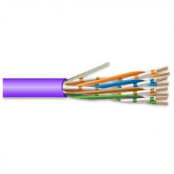 Superior Essex - 51-241-78 - Superior Essex 51-241-78 4 Pair 24 AWG CMP CAT5 - Purple