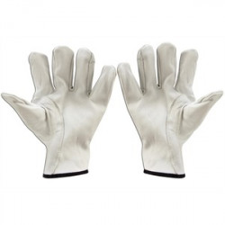Cementex - P0-10-11 - Cementex P0-10-11 Leather Glove Protectors, 10, Class 0, Size 11
