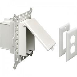 Arlington Industries - DBVMA1W - Arlington DBVMA1W Weatherproof-In-Use Box, 1-Gang, Recessed, Vertical, Non-Metallic