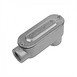 Red Dot - DALB-7-CG - Red Dot DALB-7-CG Conduit Body, Type: LB, Size: 2-1/2, Cover/Gasket, Aluminum