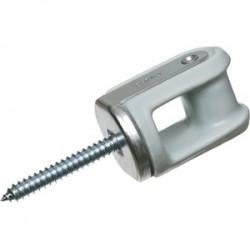 Arlington Industries - 616 - Arlington 616 Wireholder, Reinforced, Screw Type, Porcelain