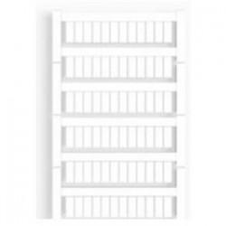 Weidmuller - 1609860000 - Weidmuller 1609860000 Terminal Block, Marker, 12mm x 5mm, White, Fits Allen Bradley