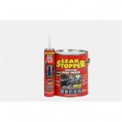 BizLine - 0319-GA - Bizline 0319-GA Leak Stopper Rubberized Roof Patch, 10 Ounce Caulk Tube
