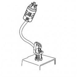 Acuity Brands Lighting - HC3P-L7-15P-U - Lithonia Lighting HC3P-L7-15P-U HID Fixture Hook & Plug, 3' Cord
