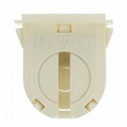 Leviton - 23662-OSL - Leviton 23662-OSL Fluorescent Lampholder, Miniature Base, Turn Type w/ Lock, Bi-Pin