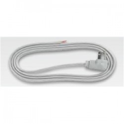 BizLine - 163SPT33FTGR - Bizline 163SPT33FTGR Appliance Cord, 16/3 SPT3, 3' Long, 13 Amp, Gray