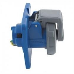 Hubbell - HBL363R6W - Hubbell-Wiring Kellems HBL363R6W PS, IEC, RECP, 2P3W,