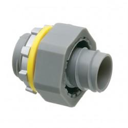 Arlington Industries - NMSC50 - Arlington NMSC50 Liquidtight Connector, Screw-On, Straight, 1/2, Non-Metallic