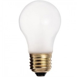 Satco - 40A15/TF - Satco 40A15/TF Incandescent Bulb, Shatter-Resistant, A15, 40W, 130V, Frosted