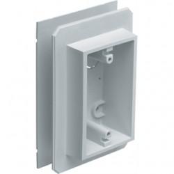 Arlington Industries - FS8091F - Arlington FS8091F Device Box, Weatherproof, All Siding Types, 1-Gang, Non-Metallic