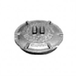 Appleton Electric - GRK-3M - Appleton GRK-3M Conduit Outlet Box Cover, Diameter: 4.88, Malleable Iron