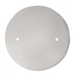 Allied Moulded - 9315-WH - Allied Moulded 9315-WH Round Box Cover, Blank, Diameter: 4-1/2, White, Non-Metallic