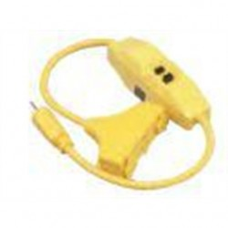 Coleman Cable - 02841-88-02 - Coleman Cable 02841-88-02 15 Amp, 120 Volt, 1800 Watt Tri-Source GFCI, 2.5ft Cord
