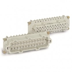 Lapp Systems - 10.197 - Lapp 10.197 Female Insert, Screw Terminated, HBE 24, 24 Contacts, With Wire Protection