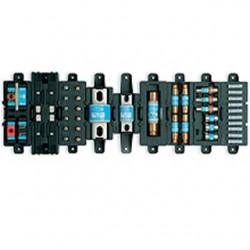 Cooper Bussmann - TPSFH-N30 - Eaton/Bussmann Series TPSFH-N30 Spare Fuse Holder, 4-Position, For 1-30A Class R Fuses