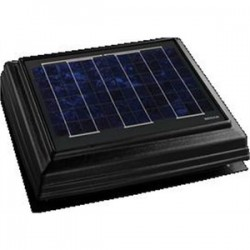 Broan-NuTone - 355SOBK - Broan 355SOBK Solar Powered Attic Fan