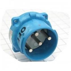 Meltric - 33-68243-C-K04 - Meltric 33-68243-C-K04 Pin & Sleeve Receptacle, 100A, 3PH 480V