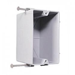 Pass & Seymour - P1-18-R - Pass & Seymour P1-18-R Switch/Outlet Box, 1-Gang, Depth: 2.68, Nail-On, Non-Metallic