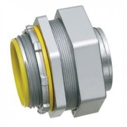 Arlington Industries - LT100 - Arlington LT100 Liquidtight Connector, Straight, 1, Die Cast Zinc