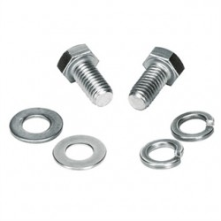 Panduit - GLMHK - Panduit Hardware Kit - Bolt, Lock Washer, Flat Washer - 1 - Stainless Steel - 1