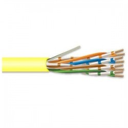 Superior Essex - 51-243-68 - Superior Essex 51-243-68 Category 5 Cable, CMP, 24 AWG, 4 Pair, Yellow