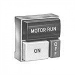 Eaton Electrical - E30DM - Eaton E30DM Multifunction Pushbutton Operator, 30mm Square, 2 Button, w/Light