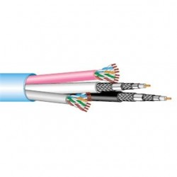 West Penn Wire - HN5262 - West Penn Wire HN5262 Jacketed Multimedia Composite Cable, CAT5e, (2) RG-6/U, (2) CAT5e, 18 AWG