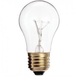 Satco - 40A15/CL - Satco 40A15/CL Incandescent Bulb, A15, 40W, 130V, Clear