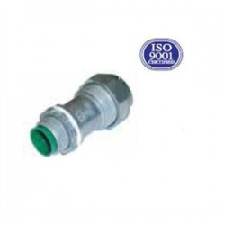 AFC Cable Systems - 595-U - AFC 595-U MC/AC Cable Connector, 1/2, Cable Size: 12/2 to 10/3, Zinc Die Cast