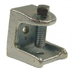 Hubbell - 2524 - Hubbell-Raco 2524 Beam Clamp, 1, Malleable Iron