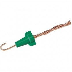 IDEAL Electrical / IDEAL Industries - 30-092 - Ideal 30-092 Wire Connector, Type: Grounding, 14 to 10 AWG, Color: Green