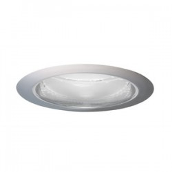 Acuity Brands Lighting - 204PT-SC - Juno Lighting 204PT-SC Cone Trim, 5, BR30/PAR30, Pewter Alzak Reflector/Satin Chrome Trim