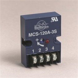 R-K Electronics - MCS-120A-2S - R-K Electronics MCS-120A-2S Timing Relay, On-Delay, 1A, 120VAC Input, .01 - 45 Sec, Range