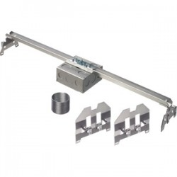 Arlington Industries - FS427SCL - Arlington FS427SCL 4 Ceiling Fan/Fixture Box, 1-1/2 Deep, Metallic