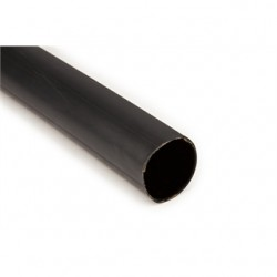 "3M - IMCSN-1100-48""-BLACK - 3M IMCSN-1100-48-Black Heat Shrink, Medium-Wall, 2 - 2/0 AWG, 48, Black"