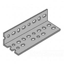 Atkore - PA 238 10' PG - Power-Strut PA 238 10' PG Slotted Angle, Steel, Zinc Plated, 14 Gauge, 2-3/8 x 1-5/8 x 10'