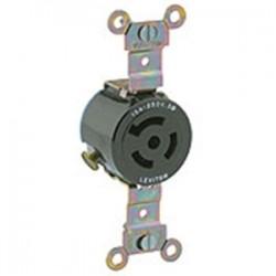 Leviton - 4870 - Leviton 4870 Lock Flush Recept