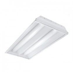 Acuity Brands Lighting - 2RT5S28T5MVOLTGEB95LPM835P - Lithonia Lighting 2RT5S28T5MVOLTGEB95LPM835P Volumetric Recessed Fixture, 4', 2-Lamp, T5, 120/277V, 28W
