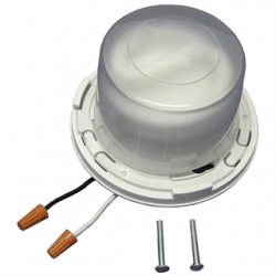 Allied Moulded - LHCFL1 - Allied Moulded LHCFL1 Keyless Fixture, Compact Fluorescent, 13W, White