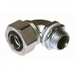 Appleton Electric - ST-90250 - Appleton ST-90250 Liquidtight Connector, 2-1/2, 90, Non-Insulated, Malleable Iron