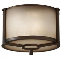 Feiss / Generation Brands - FM357-PCN - Murray Feiss FM357-PCN Ceiling Light, 2 Light, 60W, Pecan