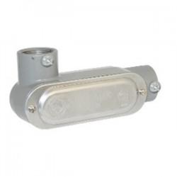 BizLine - BZLCOLL2CG - Bizline BZLCOLL2CG Type LL Conduit Body, Rigid/EMT, Aluminum, 3/4, Cover & Gasket