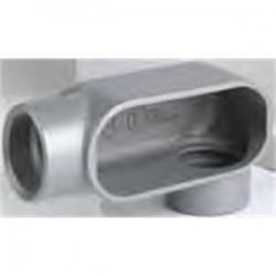 BizLine - BZLCOLL6CG - Bizline BZLCOLL6CG Type LL Conduit Body, Rigid/EMT, Aluminum, 2, Cover & Gasket