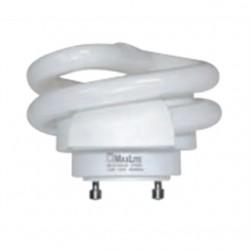 Candela - MLS13GUSWW - Candela MLS13GUSWW Compact Fluorescent Lamp, Twist Lock, 13W, 2700K, GU24 Base