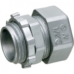 Arlington Industries - 822 - Arlington 822 Compression Connector, 1, Die-Cast Zinc