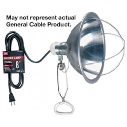 General Cable - 04127.60.01 - General Cable 04127.60.01 8' Clamp Lamp